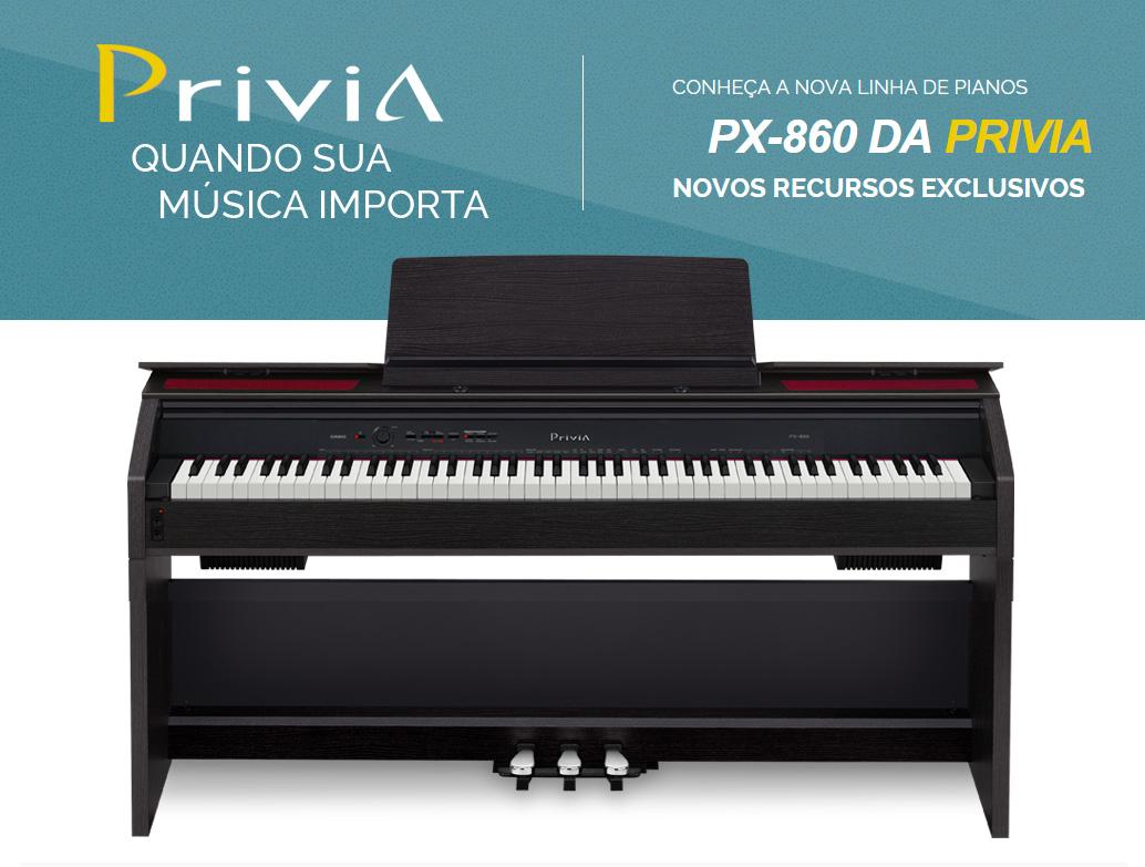 piano digital casio privia px 860 marrom. Black Bedroom Furniture Sets. Home Design Ideas