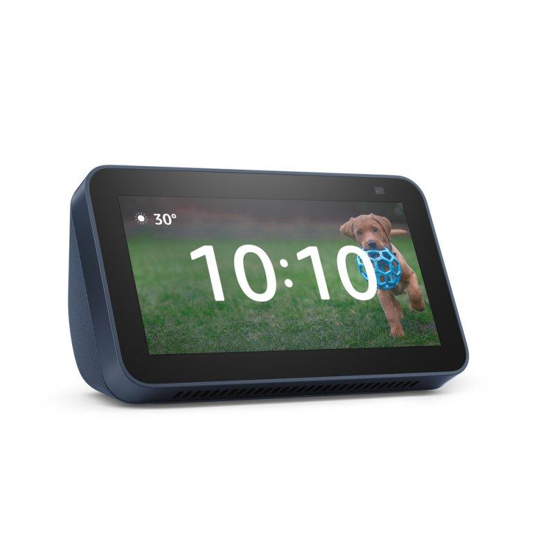 Novo Echo Show 5 | 2ª Geração (versão 2021) Azul Smart Display De 5