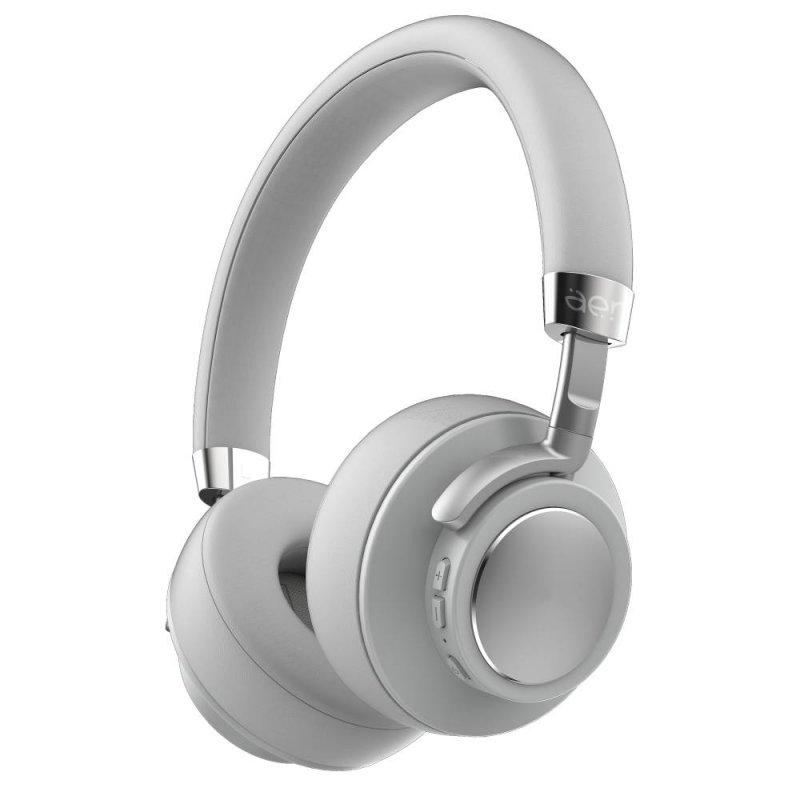 Fone De Ouvido Geonav Aer07gr Aerfluid Bluetooth Sem Fio Cinza