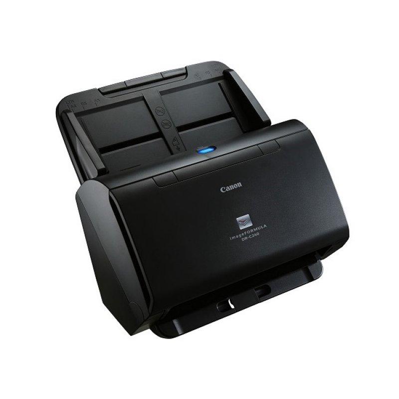 Scanner De Mesa Canon A4 Usb 2.0 Alta Velocidade Dr-c240 19w Preto