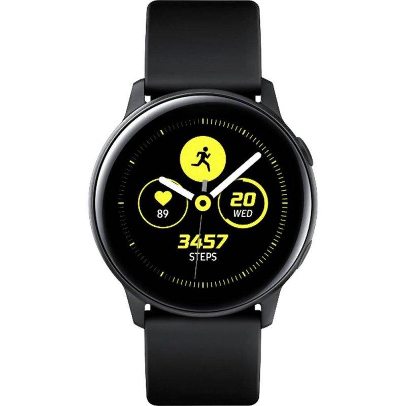 Smartwatch Samsung Galaxy Watch Active Preto Com Monitoramento Cardía