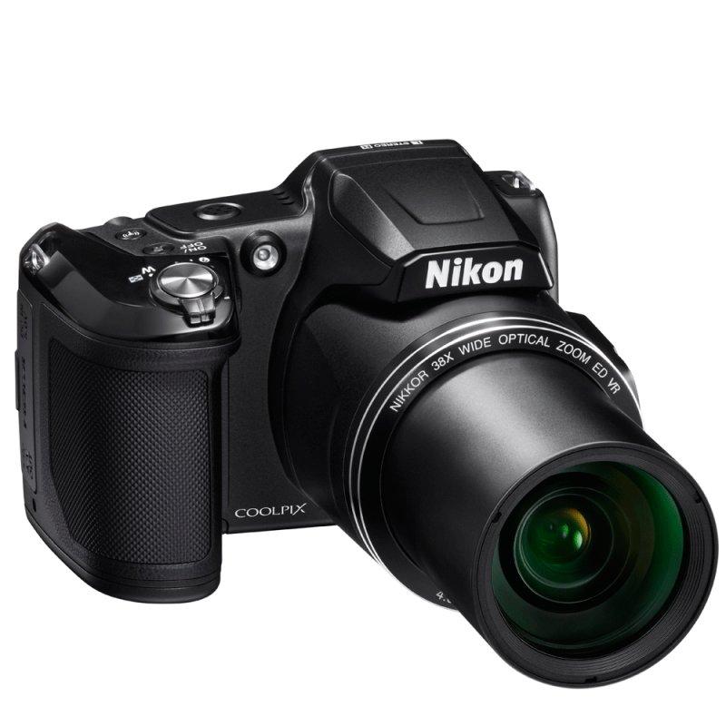 Câmera Digital Nikon Coolpix L840 16 MP LCD 3 ´ Zoom 38x Full HD 1080p Preta