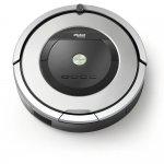 Rôbo Aspirador Roomba 860 iRobot Bivolt com 5x mais Sucção e Escovas de Borracha Prata