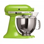 Batedeira KitchenAid Stand Mixer Artisan 127V Green Apple de 4,83L e 275W