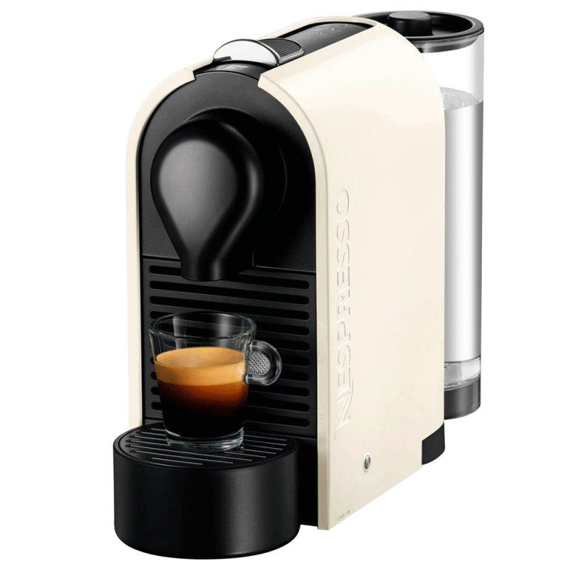 Cafeteira Nespresso U milk Pure Cream C55 - BR - CW - NE 110V Aeroccino Integrado Branca