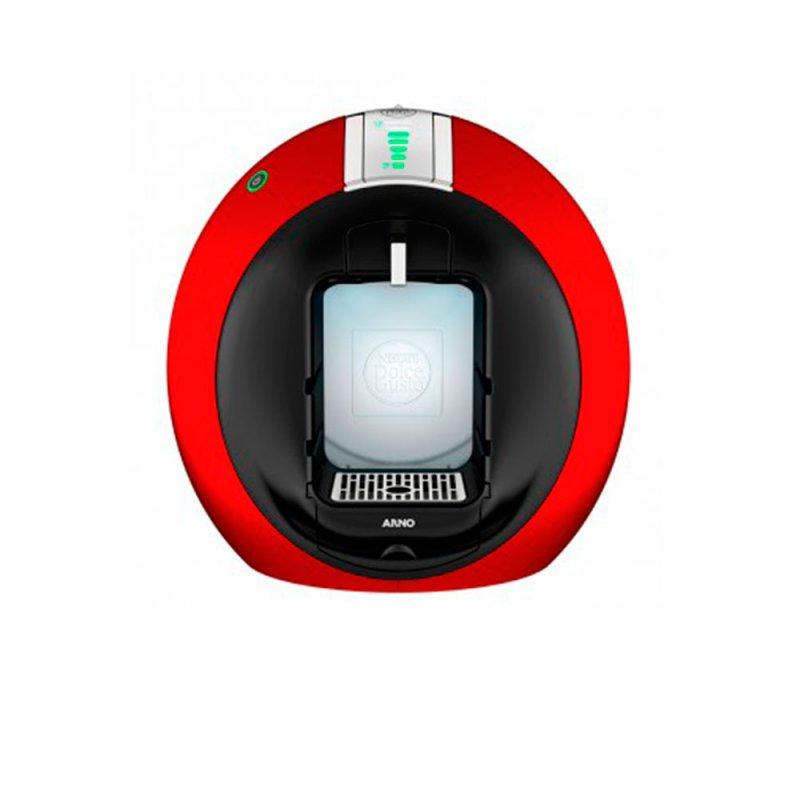 Cafeteira Expresso Arno Circolo Dolce Gusto Automática Vermelha Bebida Quente ou Fria 1460W 220 V
