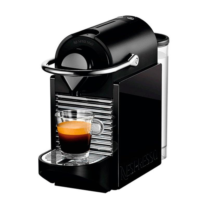 Máquina de Café Nespresso Pixie Clips 110V Preto e Limão Neon com Desligamento Automático