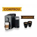 Compre Máquina de Café Nespresso Prodigio Titan 110V e Ganhe Um Par de Xícaras Touch Espresso