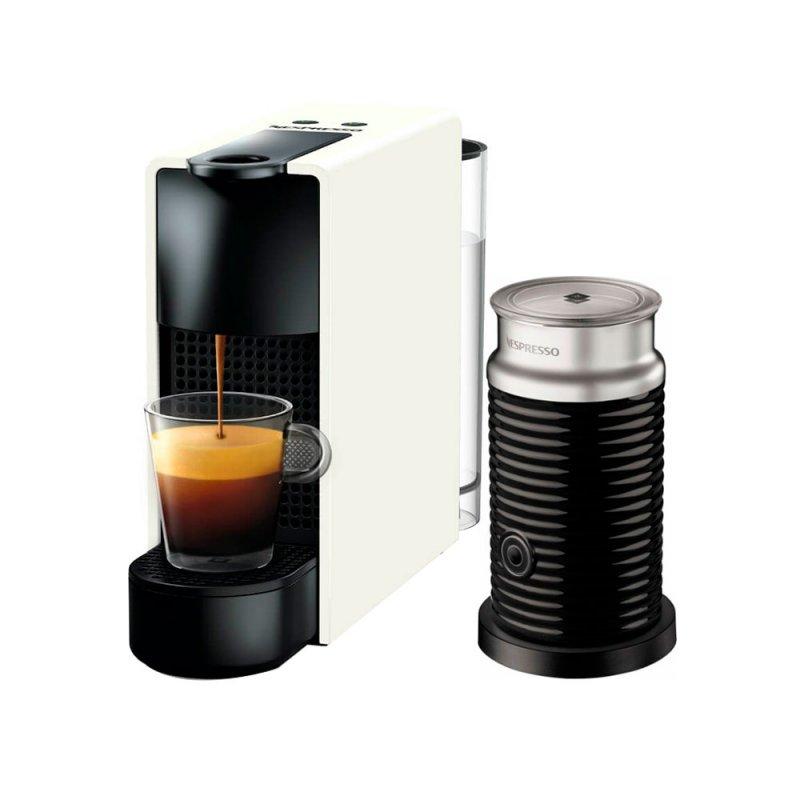 Máquina de Café Nespresso Essenza Mini C30 Branca com Aeroccino 3 127V