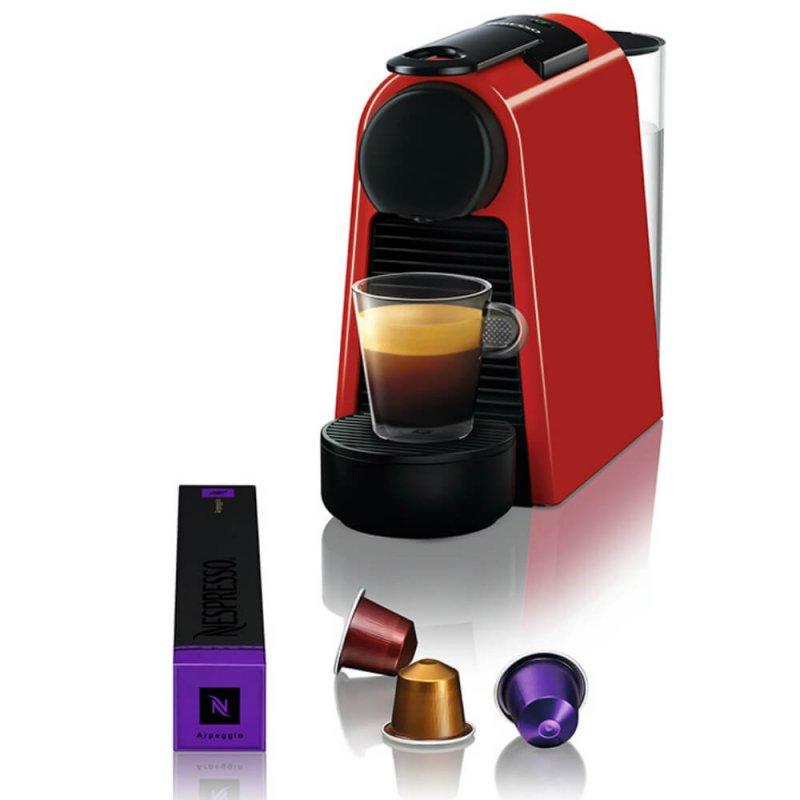 Máquina De Café Nespresso Essenza Mini Vermelha 127v