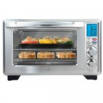 Forno Elétrico Oster Gourmet Collection 110V Cinza 22 Litros TSSTTVDFL Alarme Sonoro e Timer