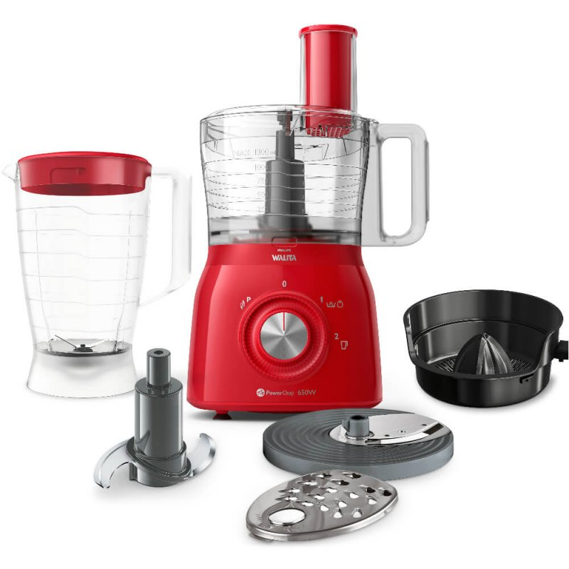Multiprocessador De Alimentos Philips Walita Viva Collection 5 Em 1 V