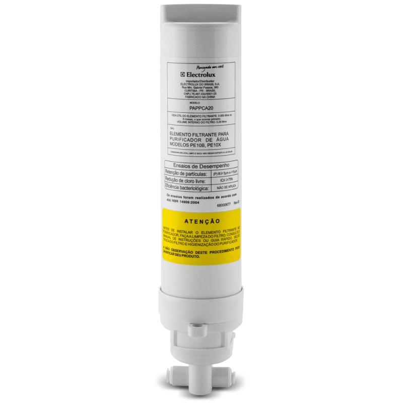 Refil/Filtro para Purificador de Água Electrolux PE Modelos PE10B, PE10X