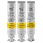 Kit 3 Refis de Filtro para Purificador de Água Electrolux PE Modelos PE10B, PE10X