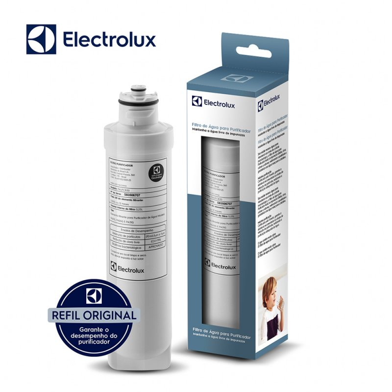 Refil / Filtro Acqua Clean Pa21g, Pa26g E Pa31g Para Purificador De á
