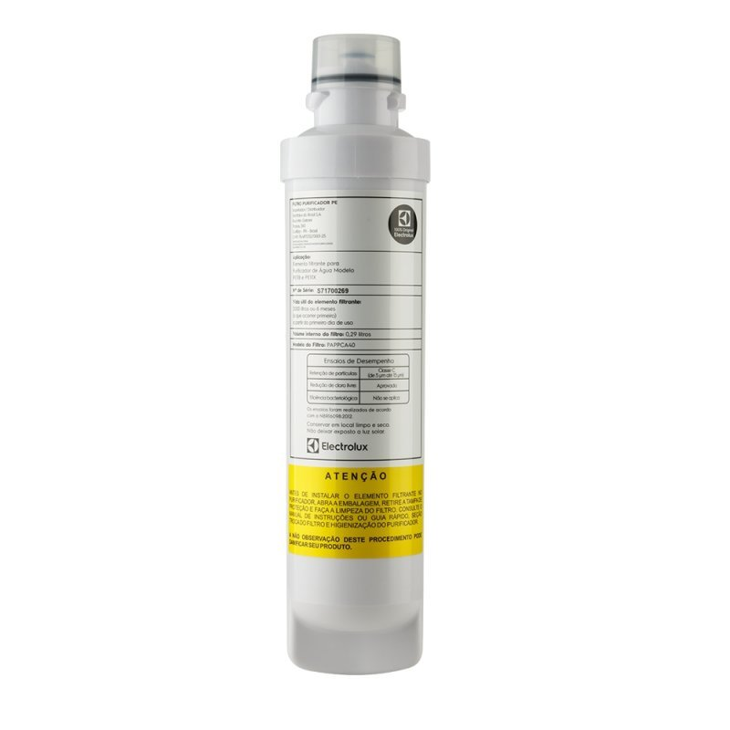 Refil Filtro Pe11b E Pe11x Para Purificador De água Electrolux