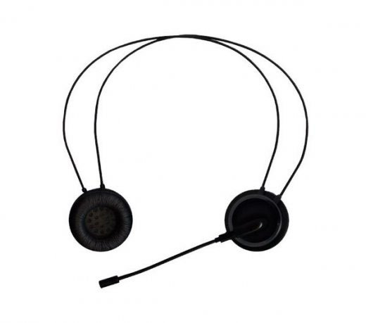 Headset GE / Microfone Destacável / para IPhone / ITouch / BlackBerry / Preto - COD. 20615