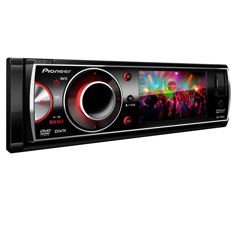 DVD Automotivo Pioneer DVH-7680AV / Tela 3