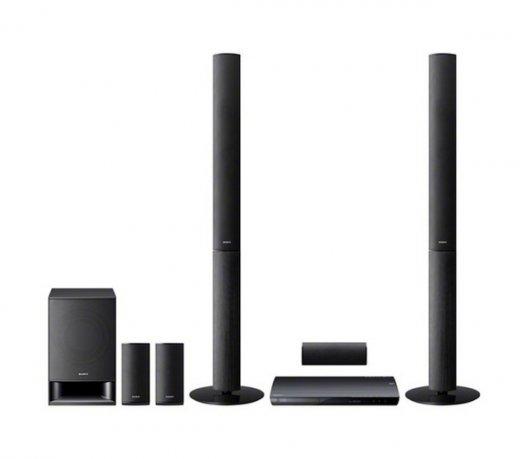 Home Theater Sony BDV-E490 / Preto / 3D / 5.1 / Bivolt / 850W / Blu-Ray / USB