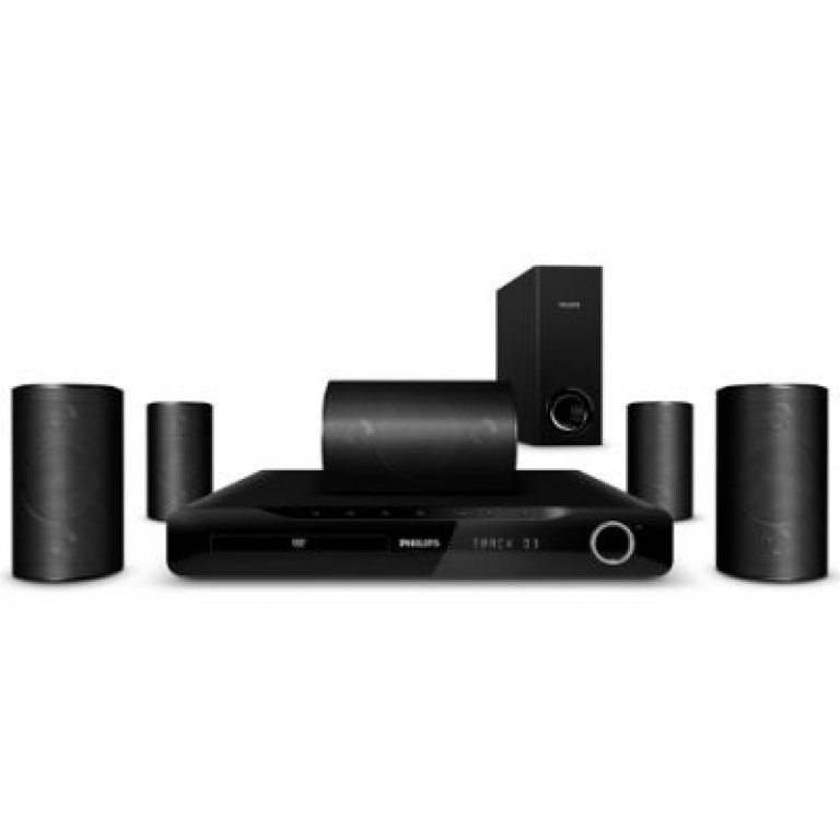 home theater philips hts3510 compre online girafa. Black Bedroom Furniture Sets. Home Design Ideas
