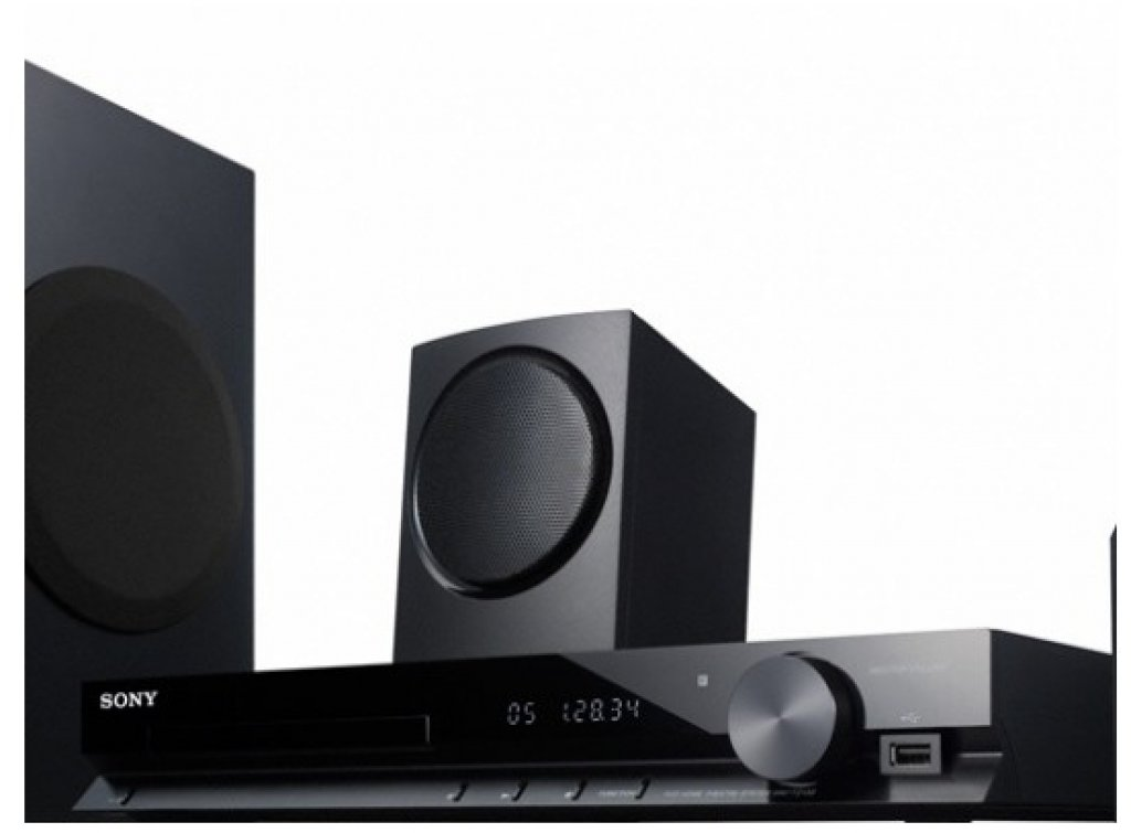 home theater sony dav tz130 compre online girafa. Black Bedroom Furniture Sets. Home Design Ideas