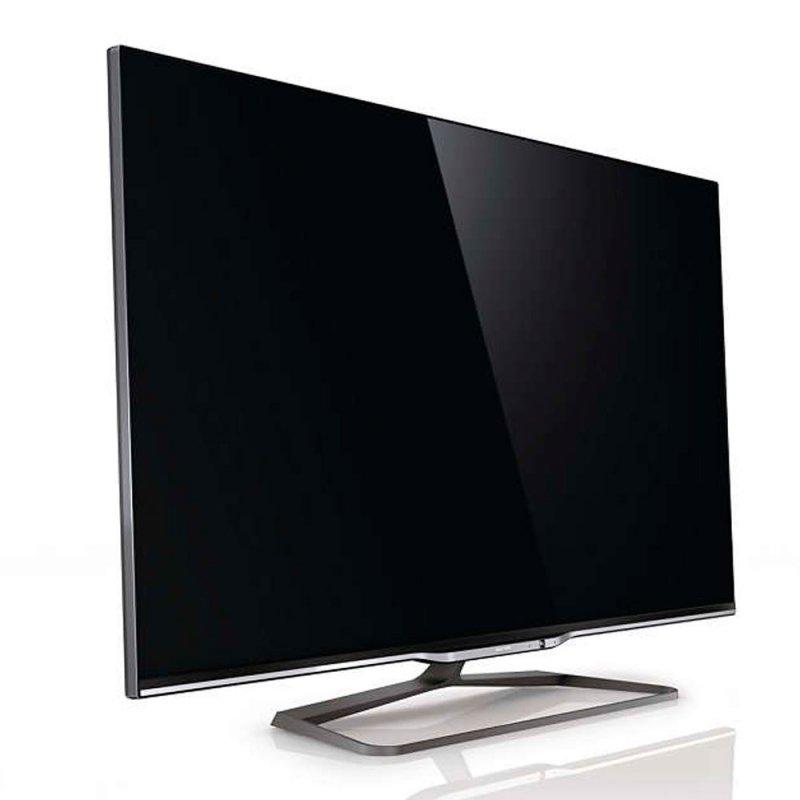 tv led 3d slim philips 55 55pfl8008 smart tv full hd dual core ambilight wi fi. Black Bedroom Furniture Sets. Home Design Ideas