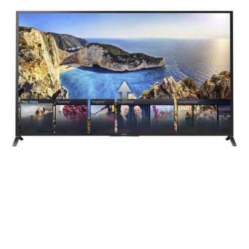Pacote Promocional TV LED 3D 60 SONY KDL 60W855 FULL HD SMART TV WI FI USB HDMI PRETA