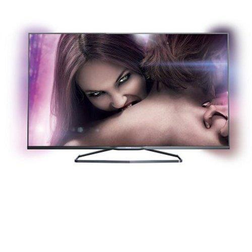Pacote Promocional TV PHILIPS LED 3D 55 55PFG7109 FULL HD AMBILIGHT SMART TV REDES SOCIAIS WI FI HDMI