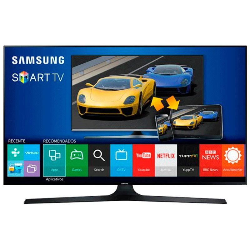 Smart TV LED Samsung 75 ´ UN75J6300 Full HD Quad Core HDMI 2.0 Função Futebol Wi - Fi