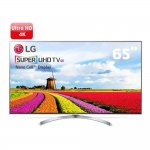 Smart TV LG Super UHD 65 polegadas 65SJ8000 WebOS 3.5 Painel IPS 4K Quantum Display com HDR
