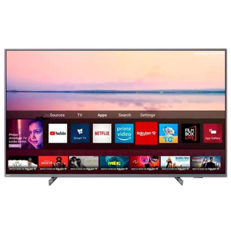 Smart Tv Philips 55 55pug6794/78 4k Ambilight Hdr Dolby Atmos Bluetoo