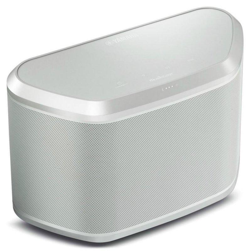 Caixa de Som WX-030 Bluetooth MusicCast Yamaha Branca Bivolt AirPlay Wifi Spotify 30W RMS