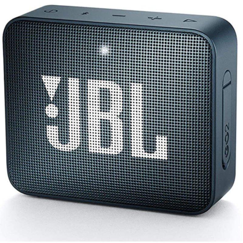 Caixa De Som Jbl Bluetooth à Prova De água Jblgo 2 Azul Marinho
