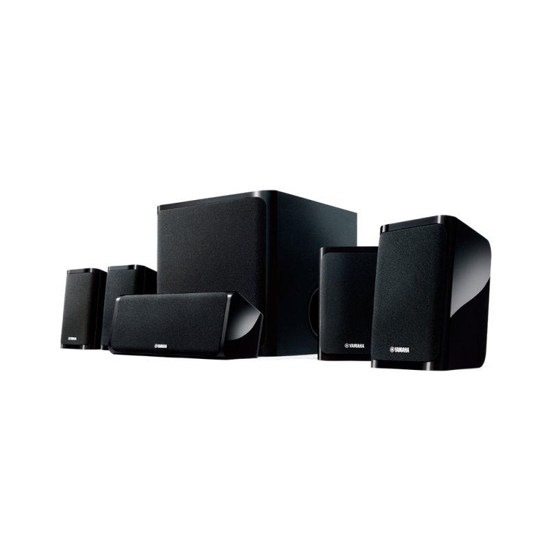 Kit de Caixas Acústicas Yamaha NS - P40BL 5.1 Áudio HD Advanced YST ll Preto