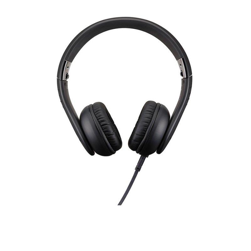 Fone de Ouvido Casio XW-H1 Preto Dobrável com Regulagem e Cabo de 1,2m