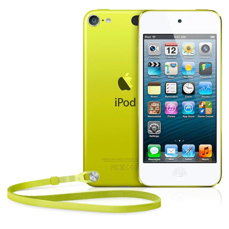 iPod touch Apple MGG12BZ / A 16GB IOS 8 Tela Retina 4 ´ ´ Câmera 5MP Amarelo