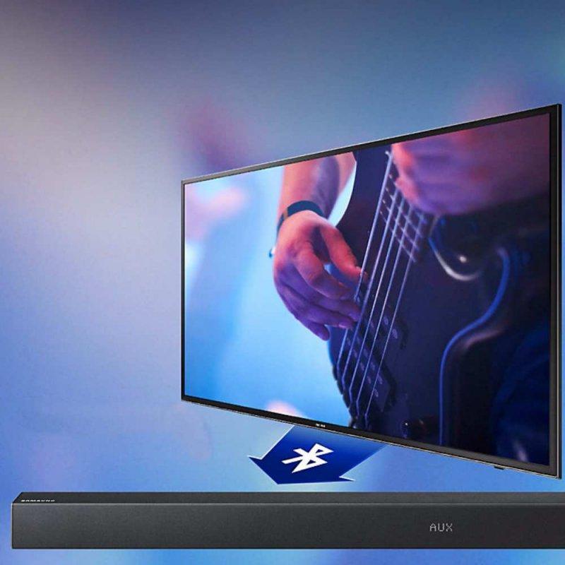 Soundbar sem Fio Samsung HW-K360 130W 2.1 Canais Bluetooth e USB Wireless Subwoofer