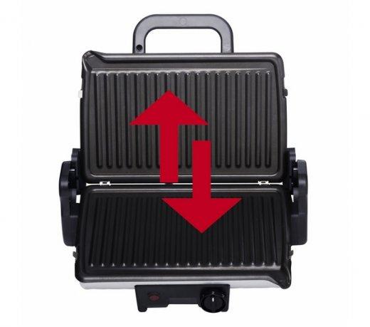 Grill Minute Sanduicheira Arno inox GC205084 110V