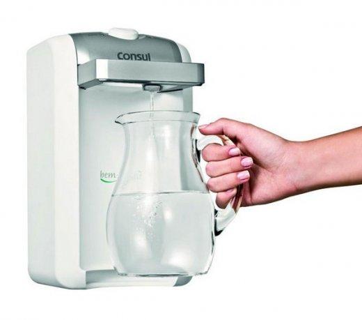 Purificador de Água Consul CPC30 Branco 1,5 Litros com Funcionamento à Bateria