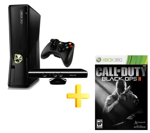 CONSOLE XBOX 360 250GB WI FI KINECT COM CALL OF DUTY