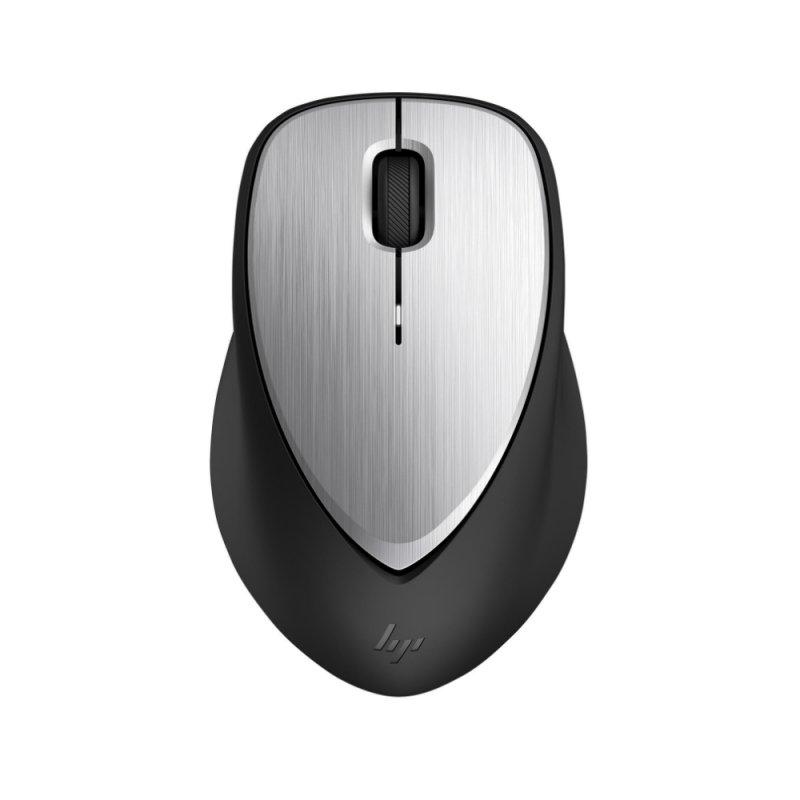 Mouse Sem Fio Recarregável Hp Envy 500 Prata E Preto