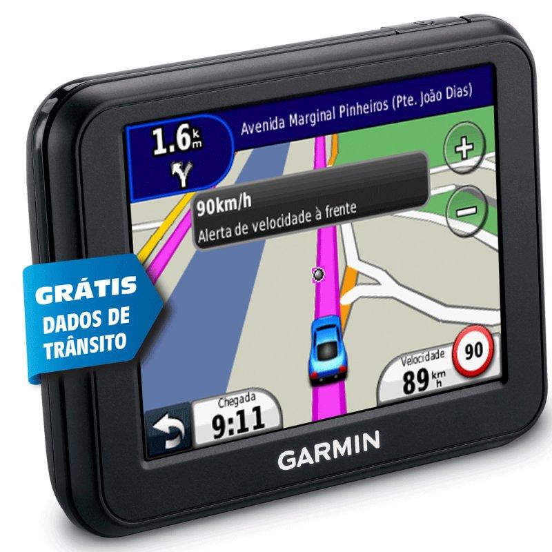 Navegador GPS Garmin nüvi 30 3,5 ´ TouchScreen Aviso de Radares Compatível Cartão SD