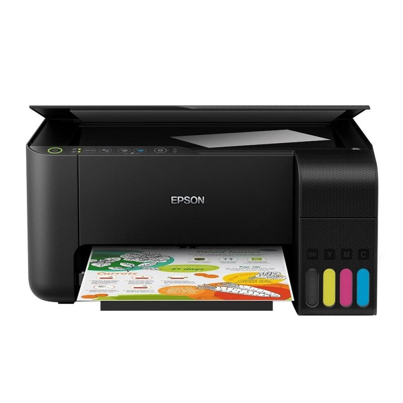 Impressora Epson Tanque De Tinta Ecotank L3150 Wi-fi Colorida Usb Imp
