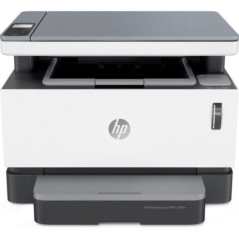 Impressora Multifuncional Hp Laser Neverstop 1200w Monocromática Bran