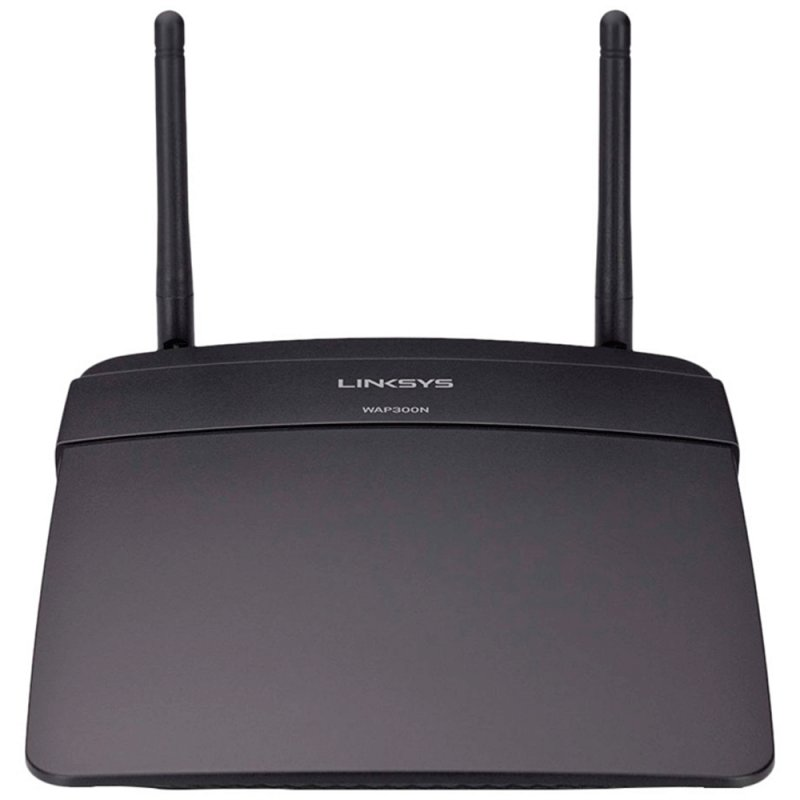 Ponto de Acesso Linksys WAP300N - BR Wireless Dual Band 300 Mbps
