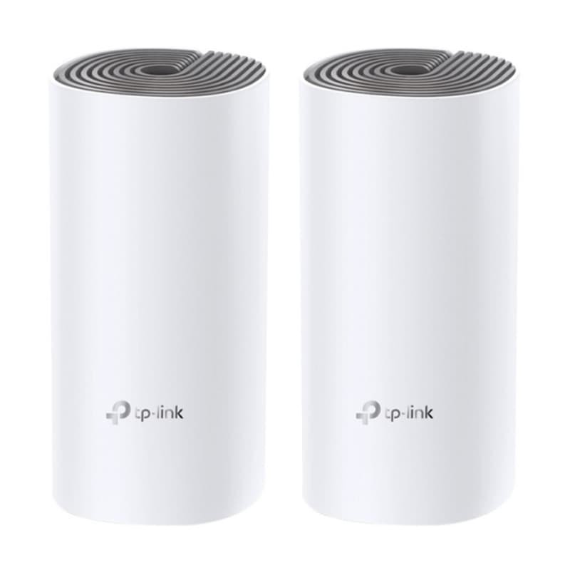 Roteador Tp Link Deco E4 2 Pack Ac1200 Branco Sistema Wi-fi Em Toda A