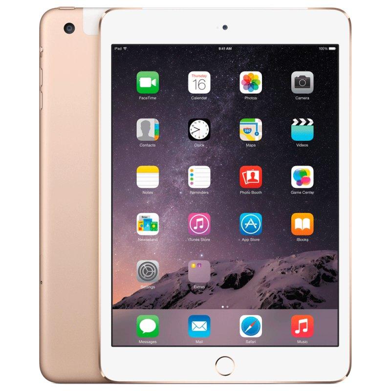 iPad Mini 3 Apple MGYR2BR / A 16GB 4G 7,9 Polegadas Dourado