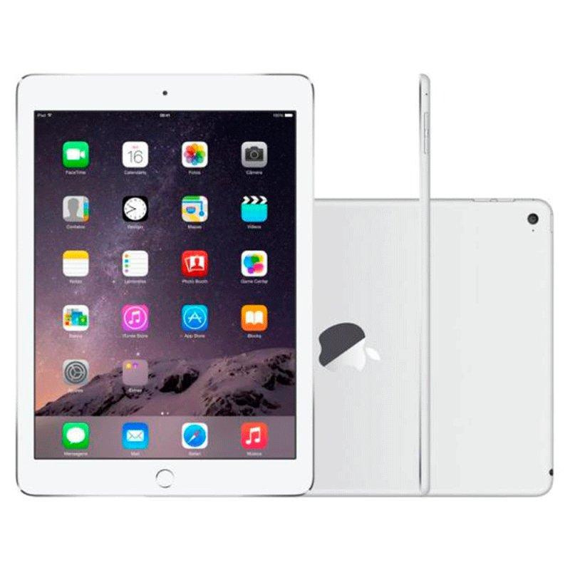 Ipad Air Apple Wi - Fi 16GB Tela Retina de 9,7 ´ Câmera 5MP e Processador M7 Prata Informática