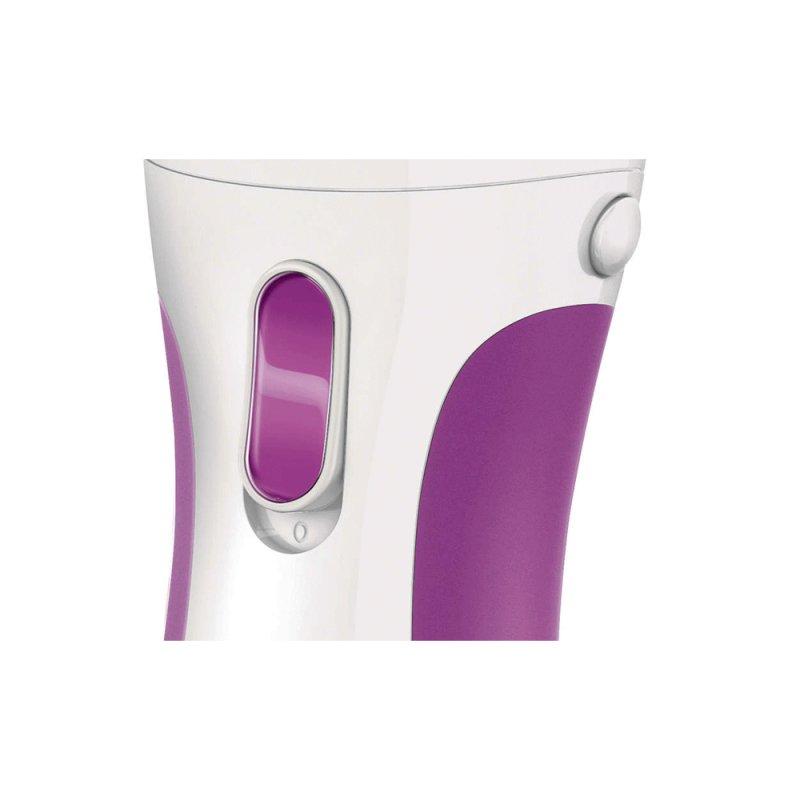Aparador de Pelos Philips Satin Girl HP6341/05 Branco e Rosa a Seco ou com Água Sem Fio