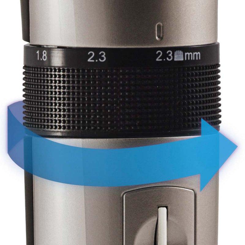Máquina de Corte Gama Italy GC585 Cinza e Preta Bivolt com 6 Regulagens de Altura